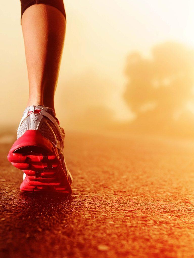 Sports Running Shoes Wallpaper 1536x2048 768x1024