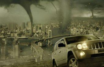 Tornado Wallpaper 15 1366x768 340x220