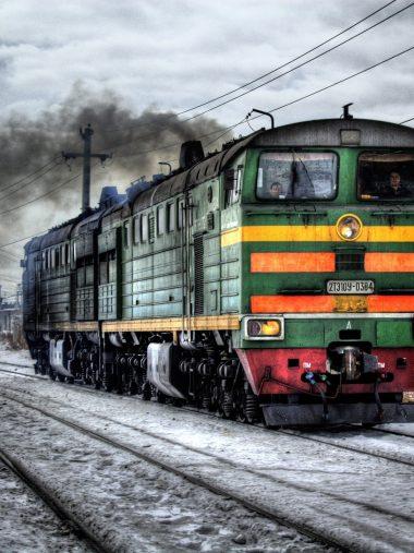 Train Railroad Tracks Wallpaper 1536x2048 380x507