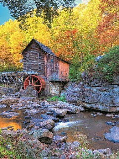 Usa Stones Autumn Nature Wallpaper 1536x2048 380x507