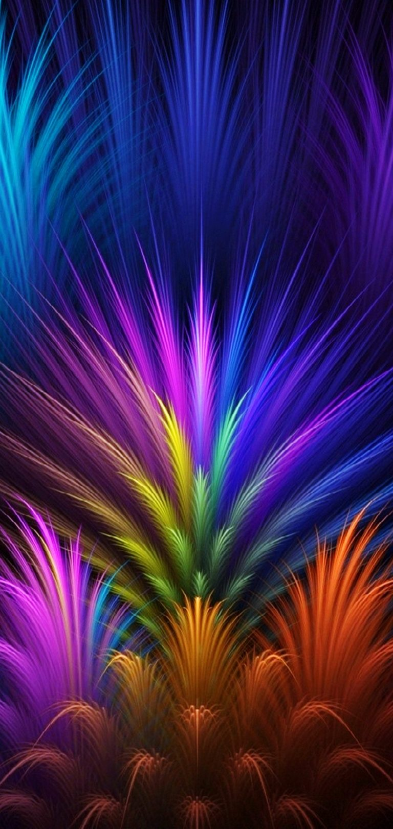 Abstract Colors Wallpaper 1080x2280 768x1621