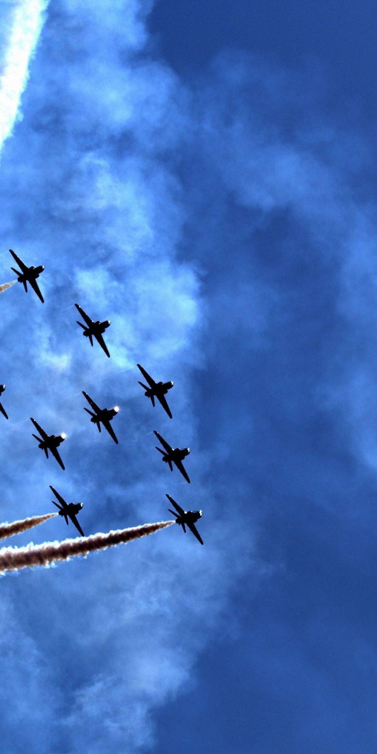 Air Parade Wallpaper 1440x2880 768x1536
