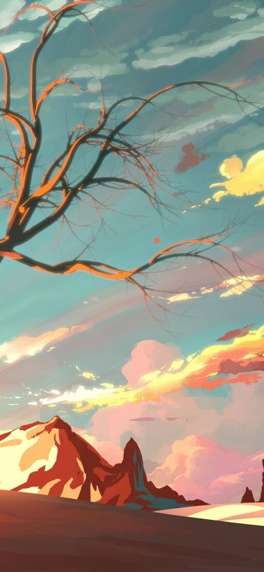Artistic Landscape Wallpaper 1125x2436 380x823