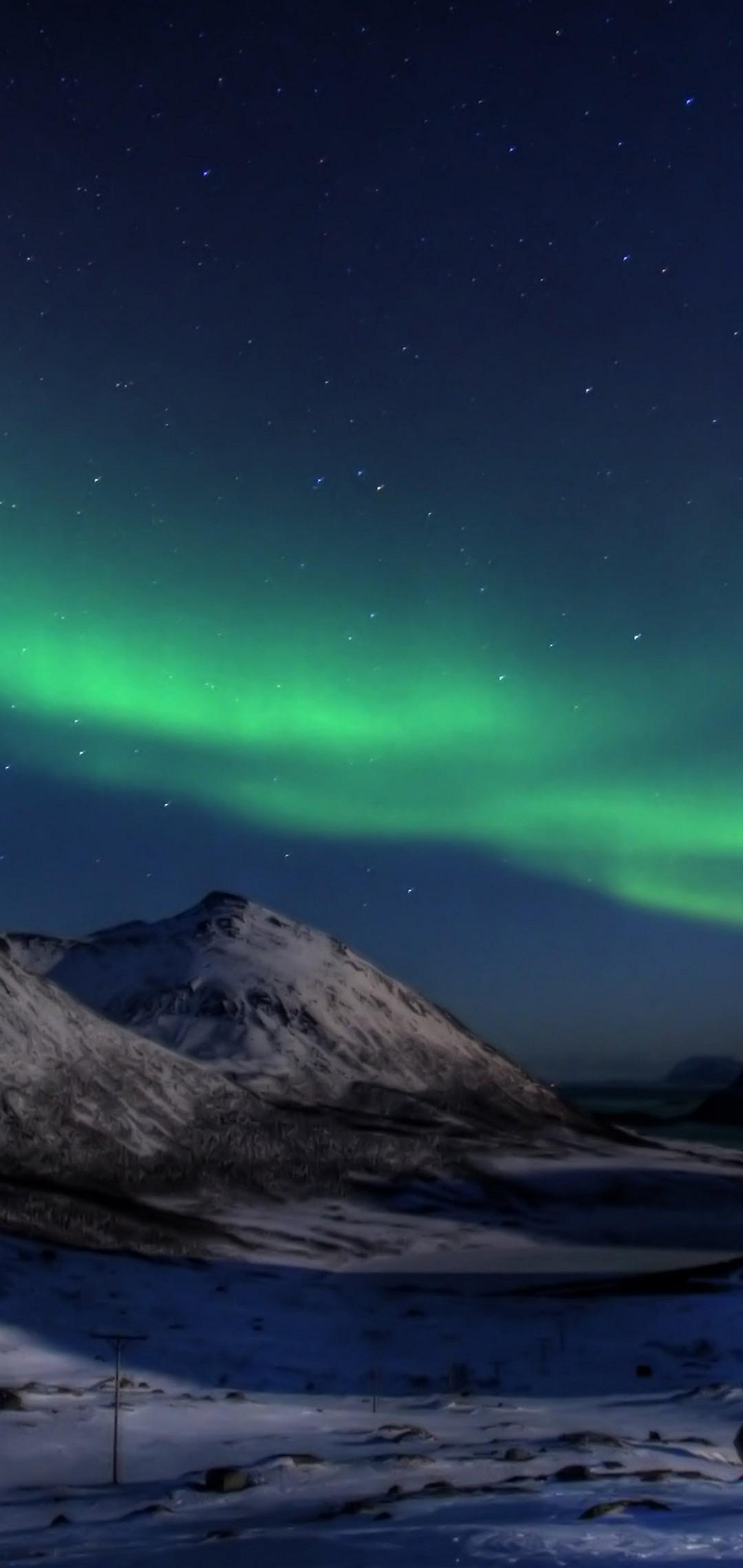 Aurora borealis wallpaper 1080x2280 - 1080 x 1080 background ...