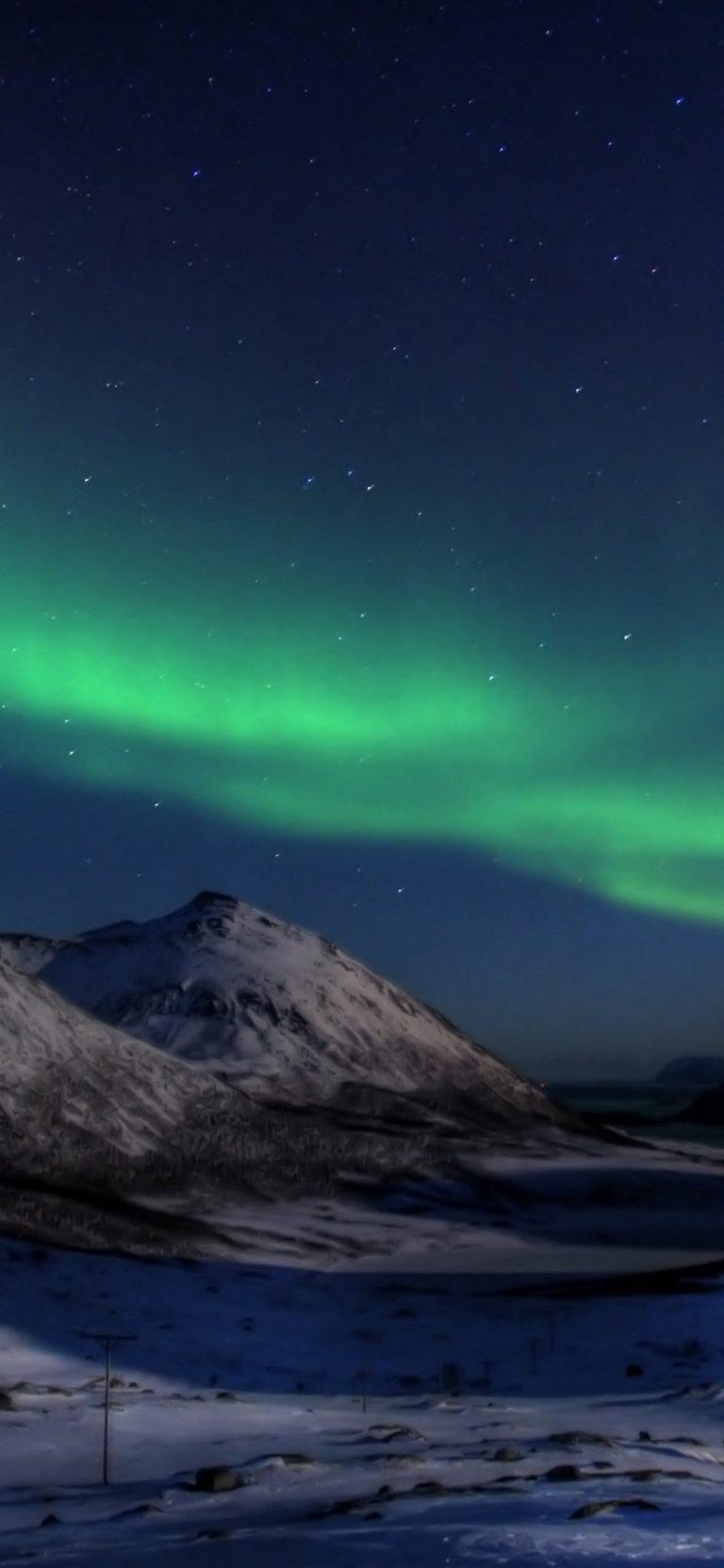 Aurora Borealis Wallpaper 1125x2436 768x1663