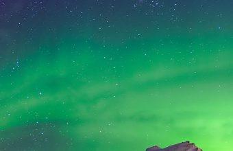 Aurora Borealis Winter Wallpaper 1080x2280 340x220