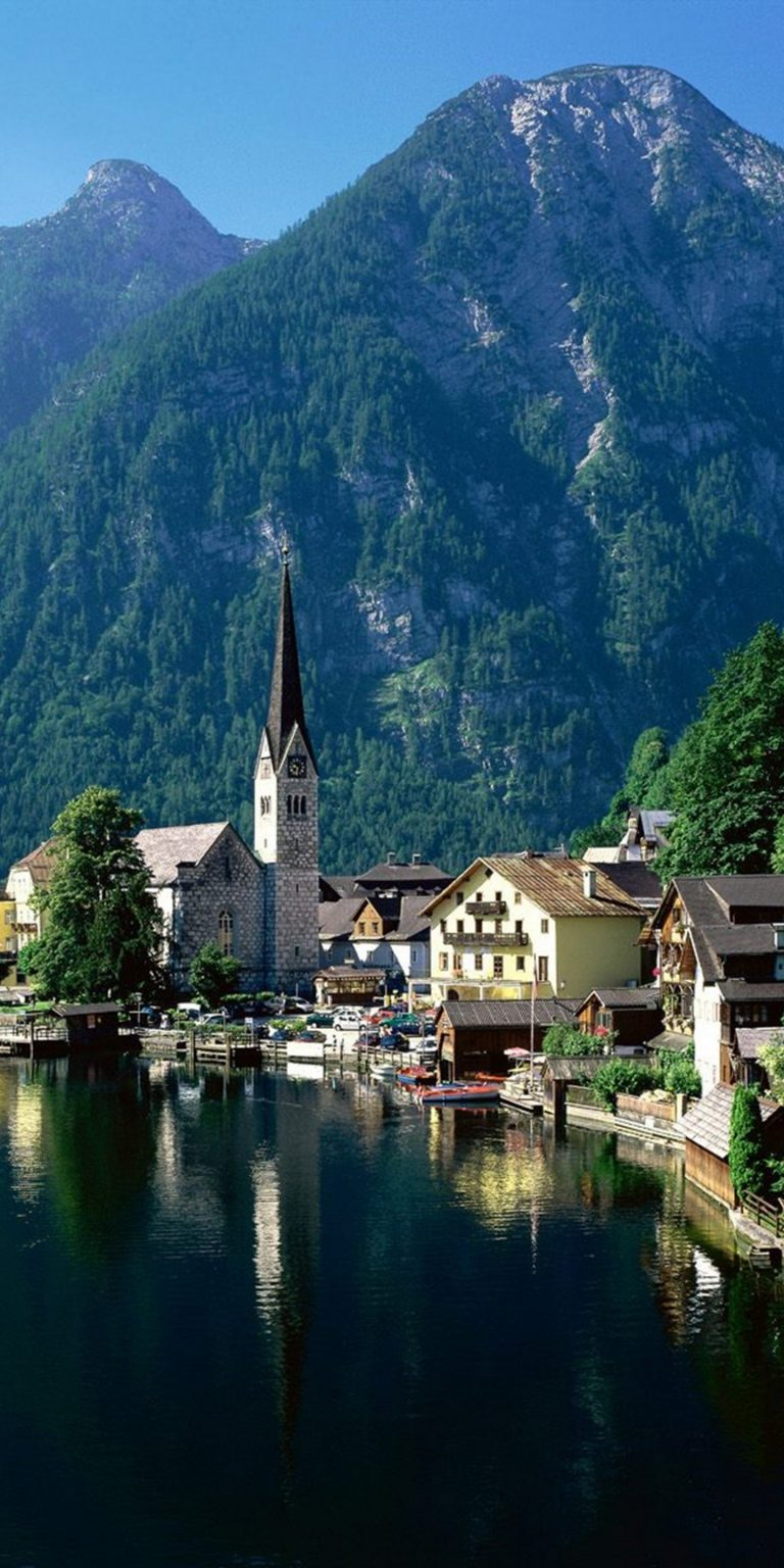 Austria Alp Europe Landscape Lake 1440x2880 768x1536