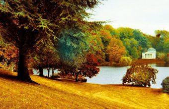 Beautiful Park Wallpaper 1080x2280 340x220