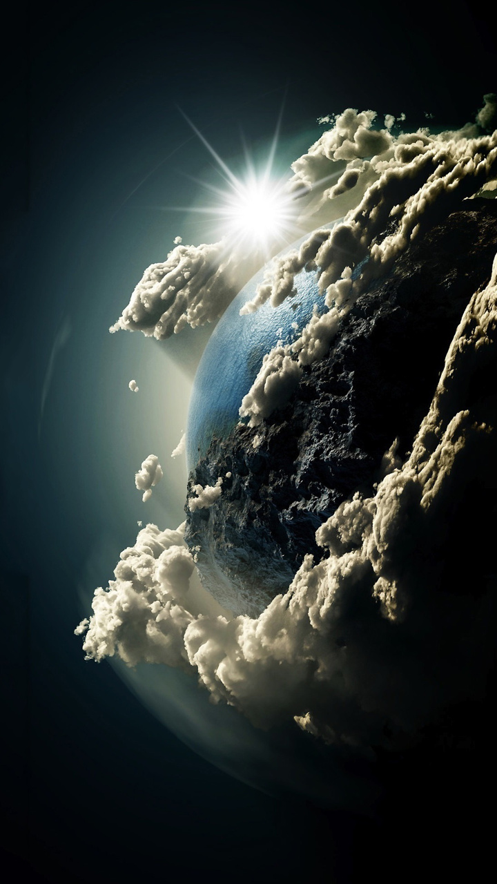 beautiful sky world wallpaper - [720x1280]