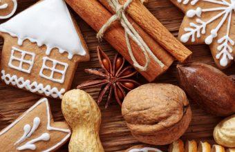 Cinnamon Nuts Cookies Orange Fruit Food 1440x2880 340x220