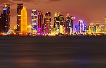 Doha City Wallpaper 1080x2280 340x220