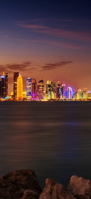 Doha City Wallpaper 1125x2436 380x823