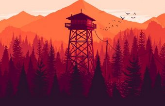 Firewatch Wallpaper 1080x2280 340x220