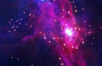 Galaxy Colors Wallpaper 1080x2280 340x220