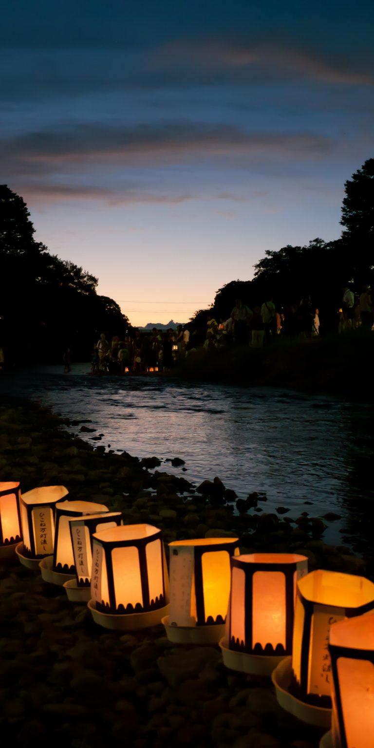 Japanese Lantern Lamp Light Asian 1440x2880 768x1536