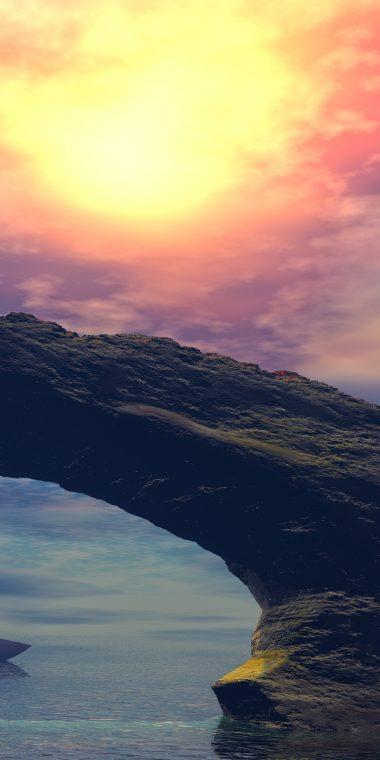 Landscape Rocks 8K 1440x2880 380x760