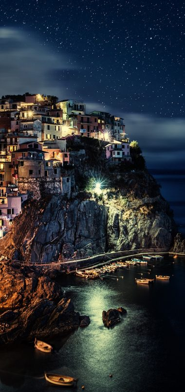 Manarola Wallpaper 1080x2280 380x802