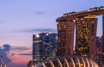 Marina Bay Sands Wallpaper 1080x2280 340x220