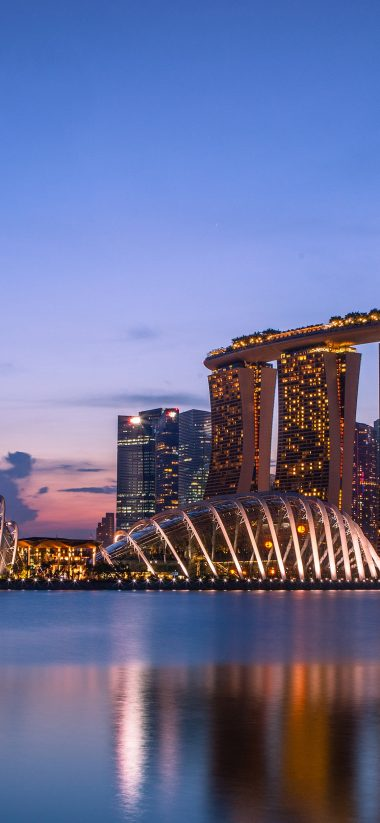 Marina Bay Sands Wallpaper 1125x2436 380x823
