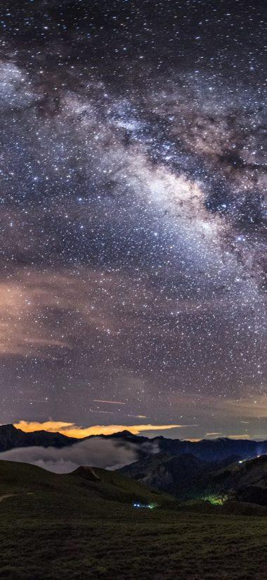 Milky Way HD Wallpaper 1125x2436 380x823