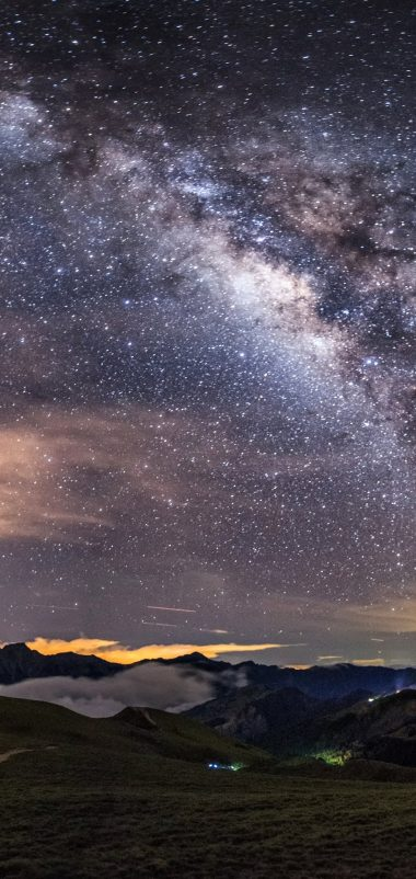 Milky Way Wallpaper 1080x2280 380x802