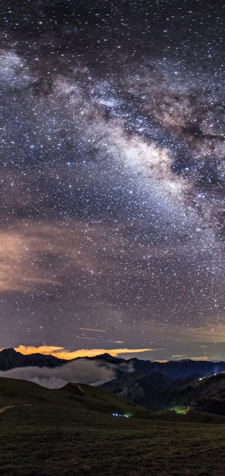 Milky Way Wallpaper 1080x2280 768x1621