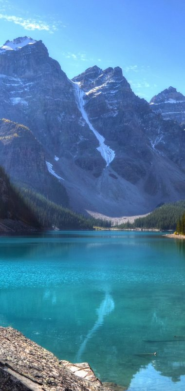 Moraine Lake 4K Ultra HD Wallpaper 4878x3225 Wallpaper 1080x2280 380x802