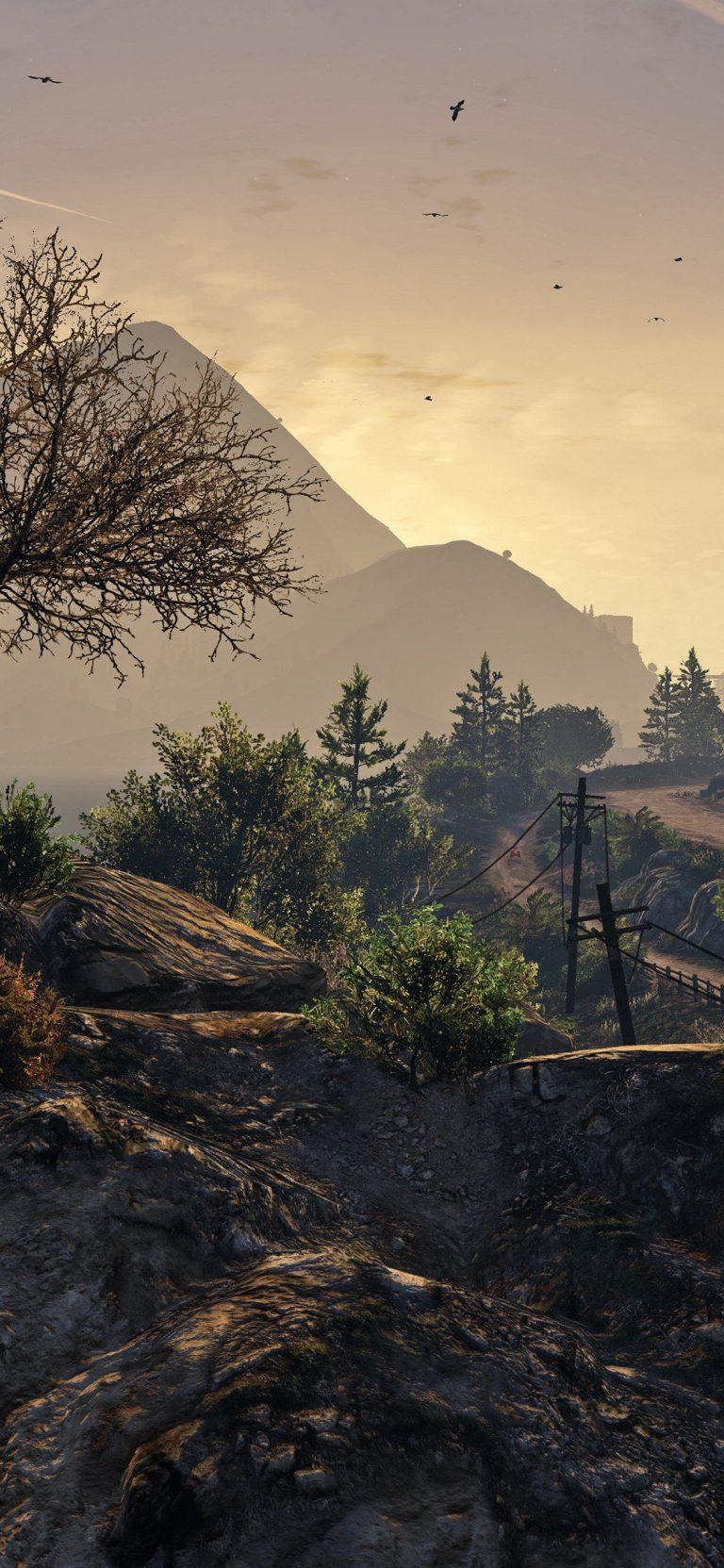 Mountain Way HD Wallpaper 1125x2436 768x1663