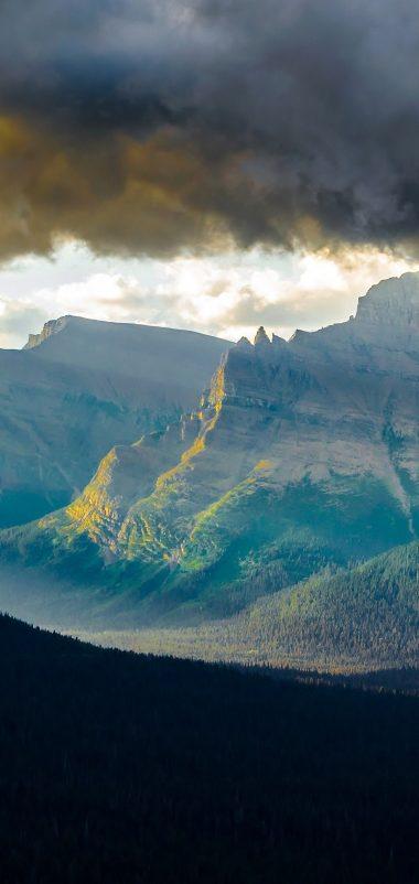 Mountains Wallpaper 1080x2280 380x802