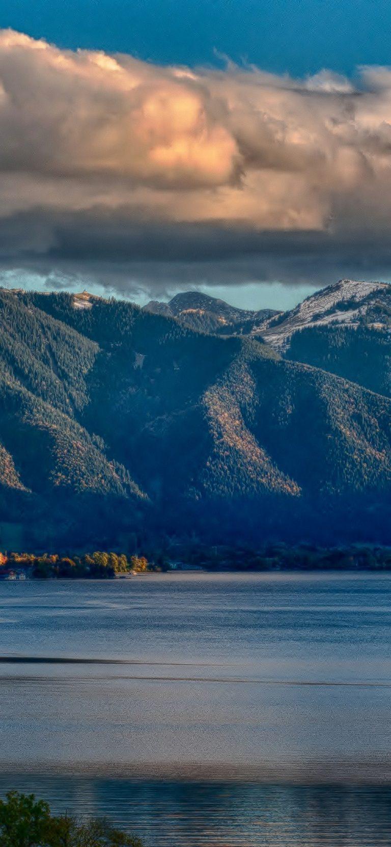 Nature Lake Landscape Reflection HD Wallpaper 1125x2436 768x1663
