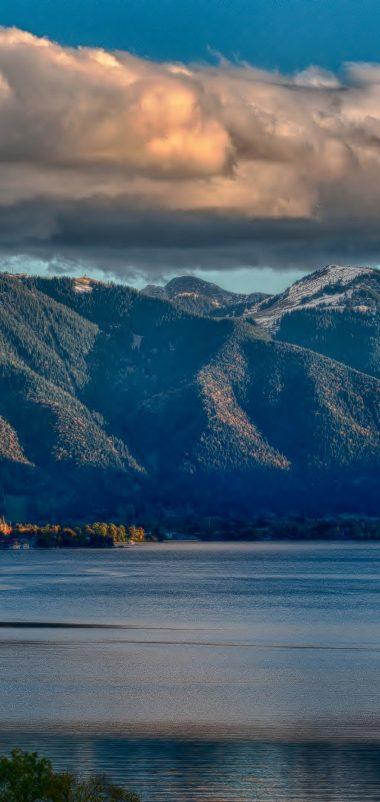 Nature Lake Landscape Reflection Wallpaper 1080x2280 380x802
