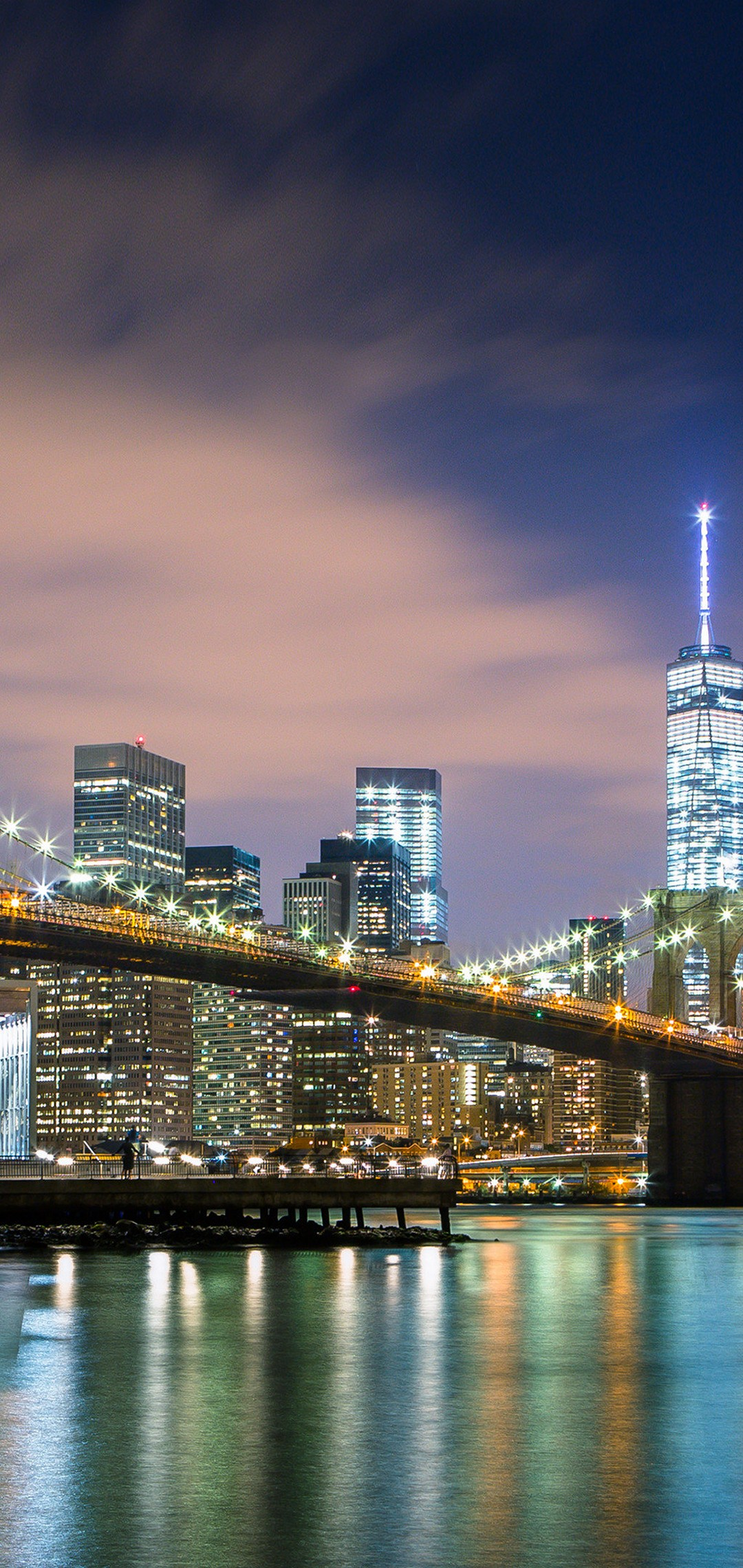 New York Wallpaper 1080x2280