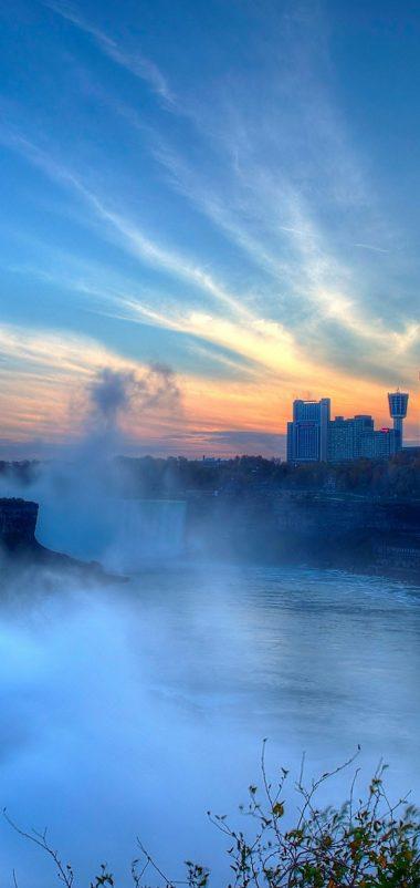Niagara Falls Wallpaper 1080x2280 380x802