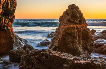 Ocean Sunrises And Sunsets USA Malibu 1440x2880 340x220