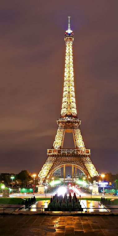 Paris Eiffel Tower 1440x2880 380x760