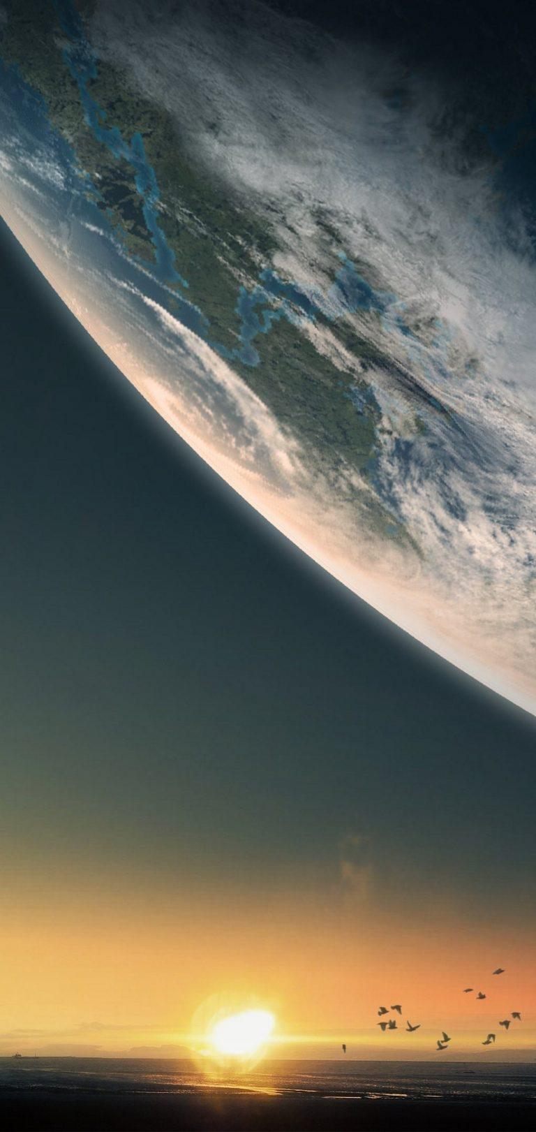 Planet Wallpaper 1080x2280 768x1621