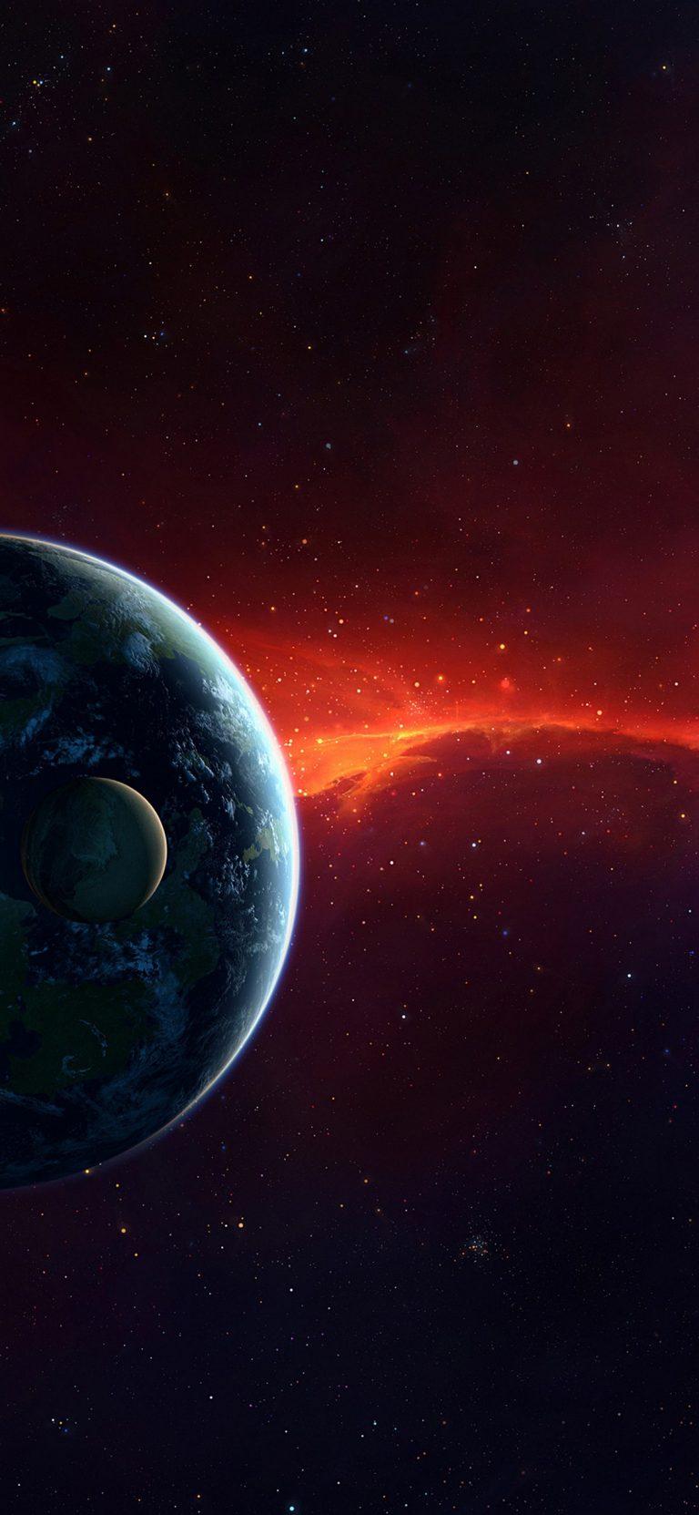 Planets HD Wallpaper 1125x2436 768x1663