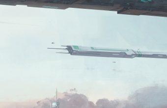 STAR CITIZEN Sci Fi Spaceship 1440x2880 340x220