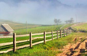 Scenery Roads Grass Fence Clouds Nature 1440x2880 340x220