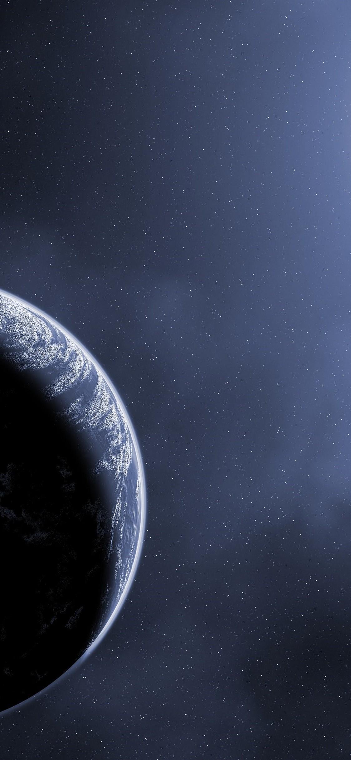 Scientific Planet Galaxy Space Stars HD Wallpaper