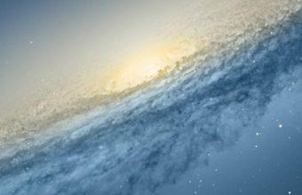 Scientific Space Planet Galaxy Stars Wallpaper 1080x2280 340x220