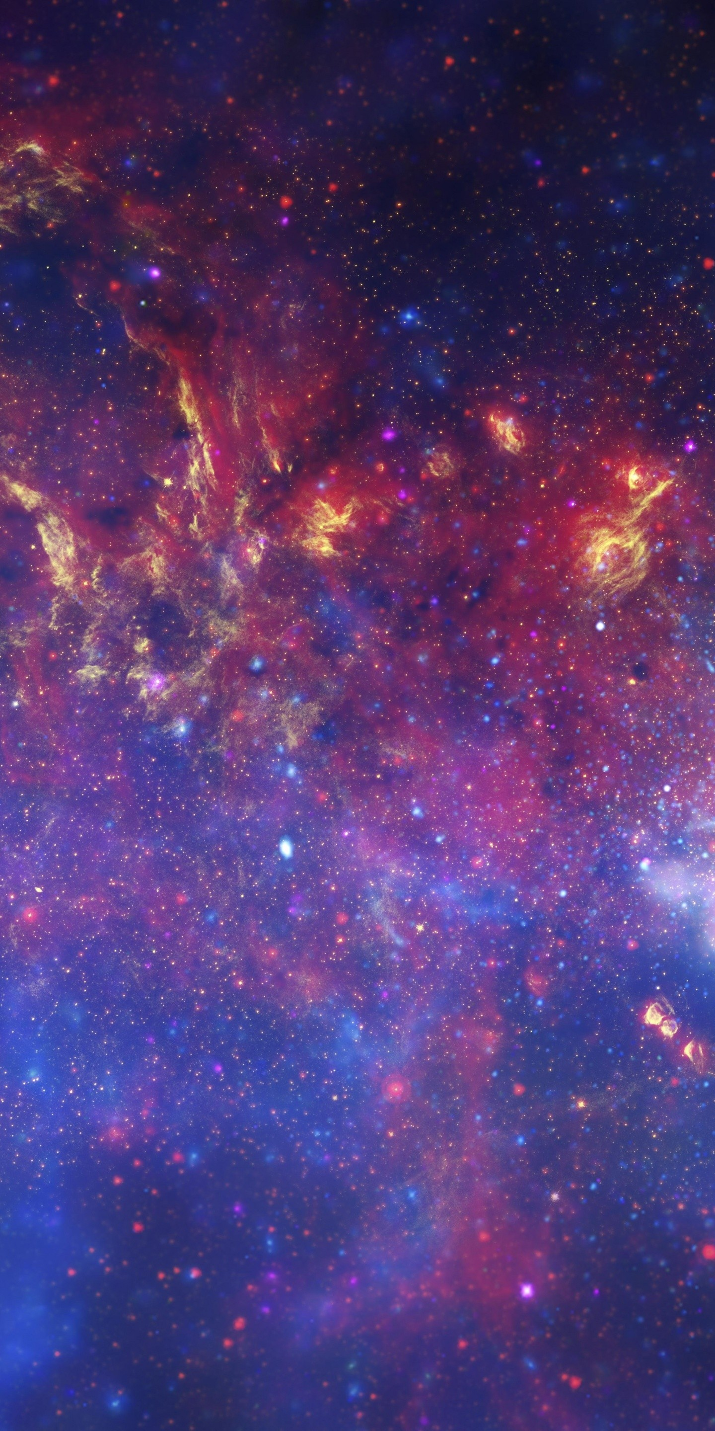 Space Stars Galaxy Cosmo 1440x2880