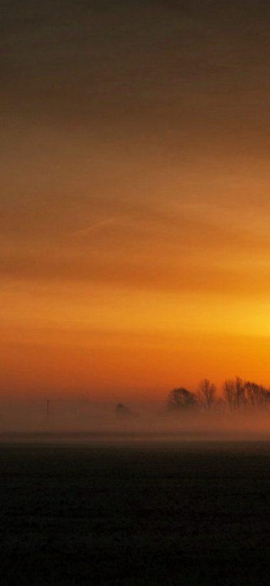 Sunset Landscape HD Wallpaper 1125x2436 380x823