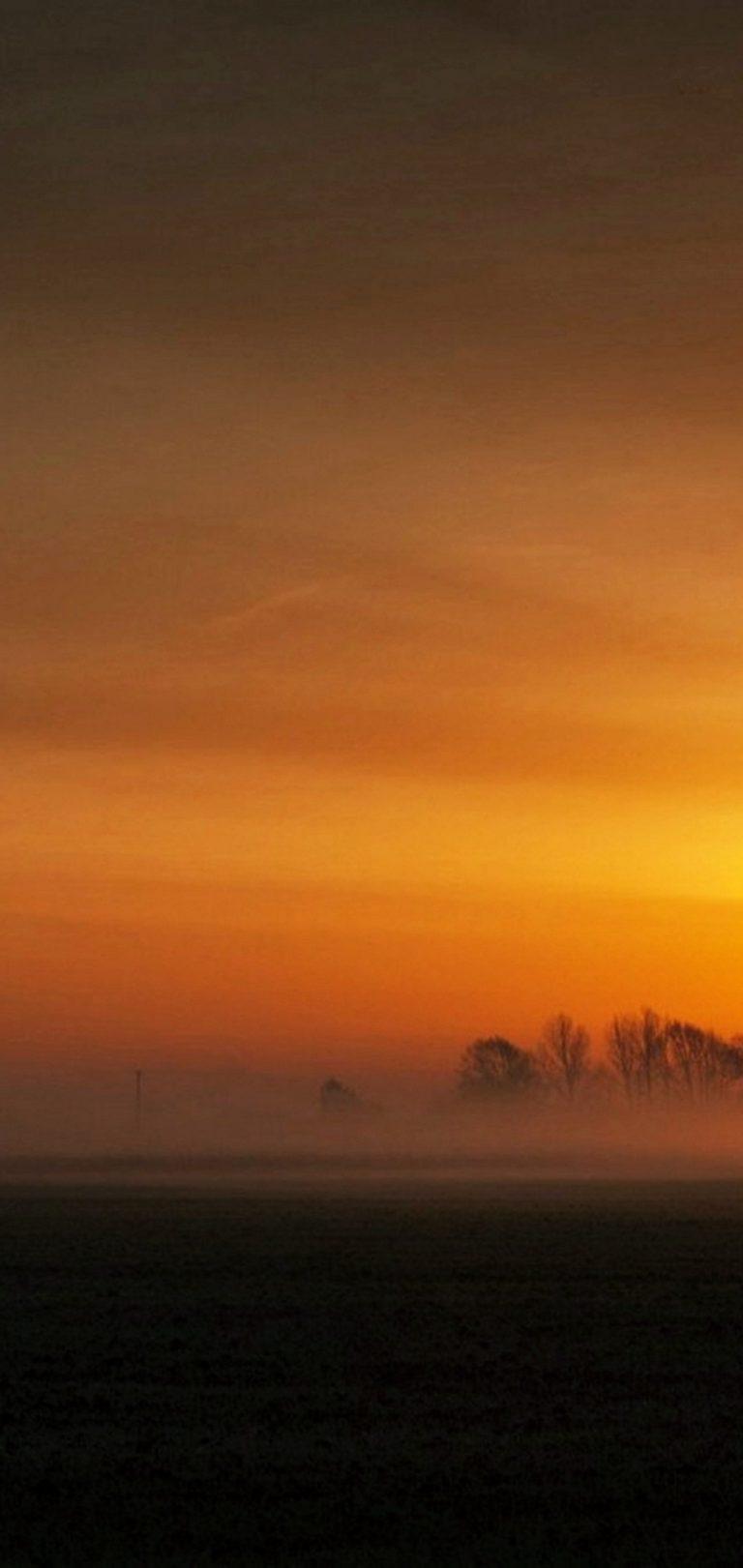 Sunset Landscape Wallpaper 1080x2280 768x1621
