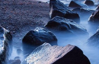 Sunset Sea Beach Rocks Lighthouse 1440x2880 340x220