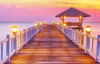 Sunset Sea Sun Landscape 1440x2880 340x220