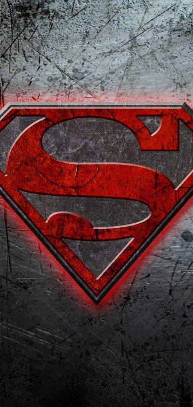 Superman Logo Wallpaper 1080x2280 380x802