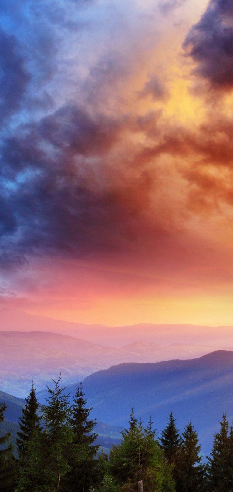 Valley Morning Wallpaper 1080x2280 768x1621