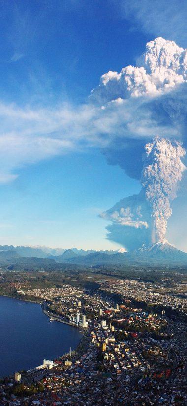 Volcano HD Wallpaper 1125x2436 380x823