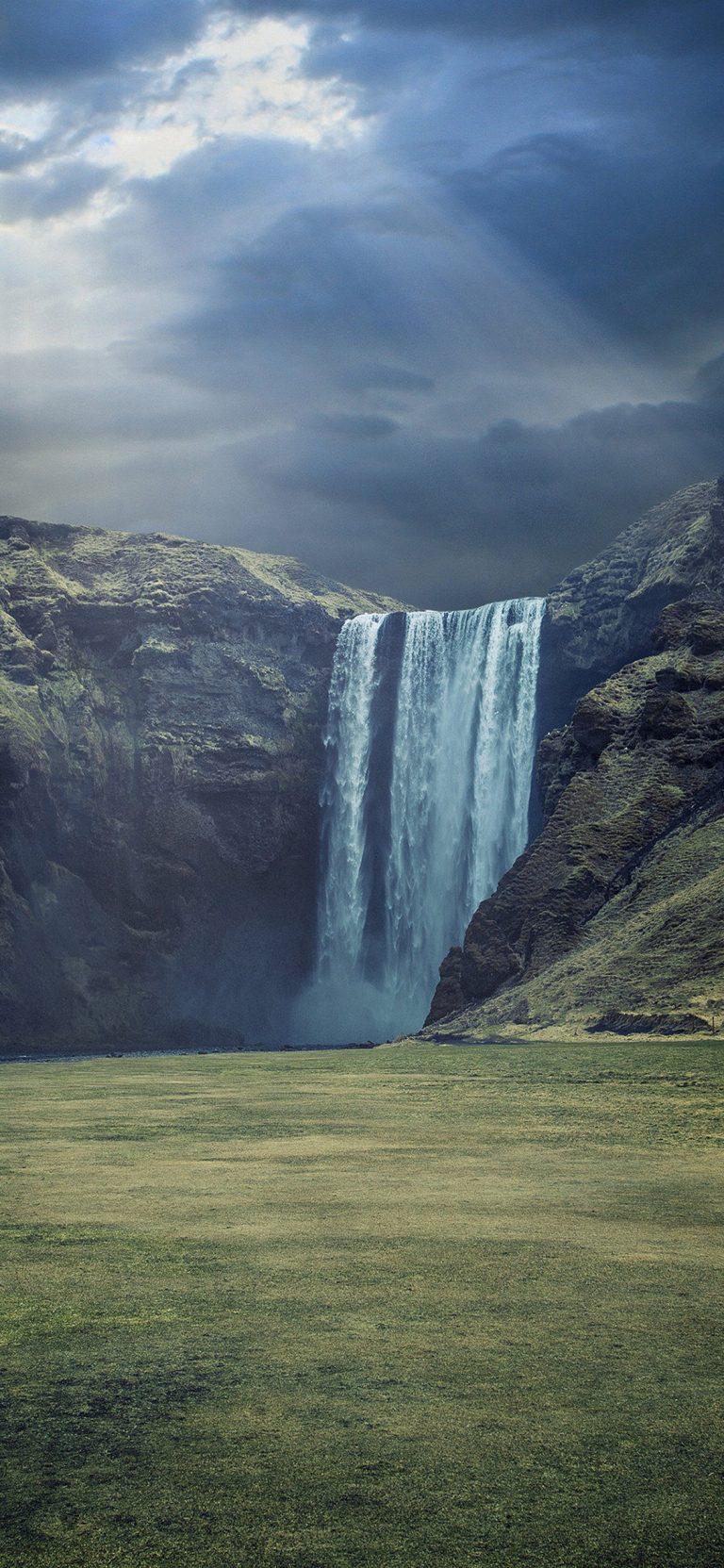 Waterfall Landscape HD Wallpaper 1125x2436 768x1663